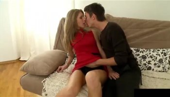 Beautiful wife cuckolding cheating husband