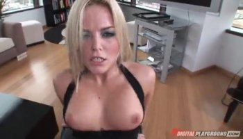 Alexa Aimes gets her tight pussy stretched out by a big dick