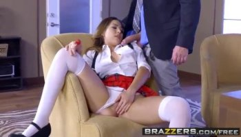 Feisty gf anal fucked and cum facialed