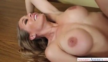 Eye-popping slapper Ella Milano riding cock and clench her teeth with joy